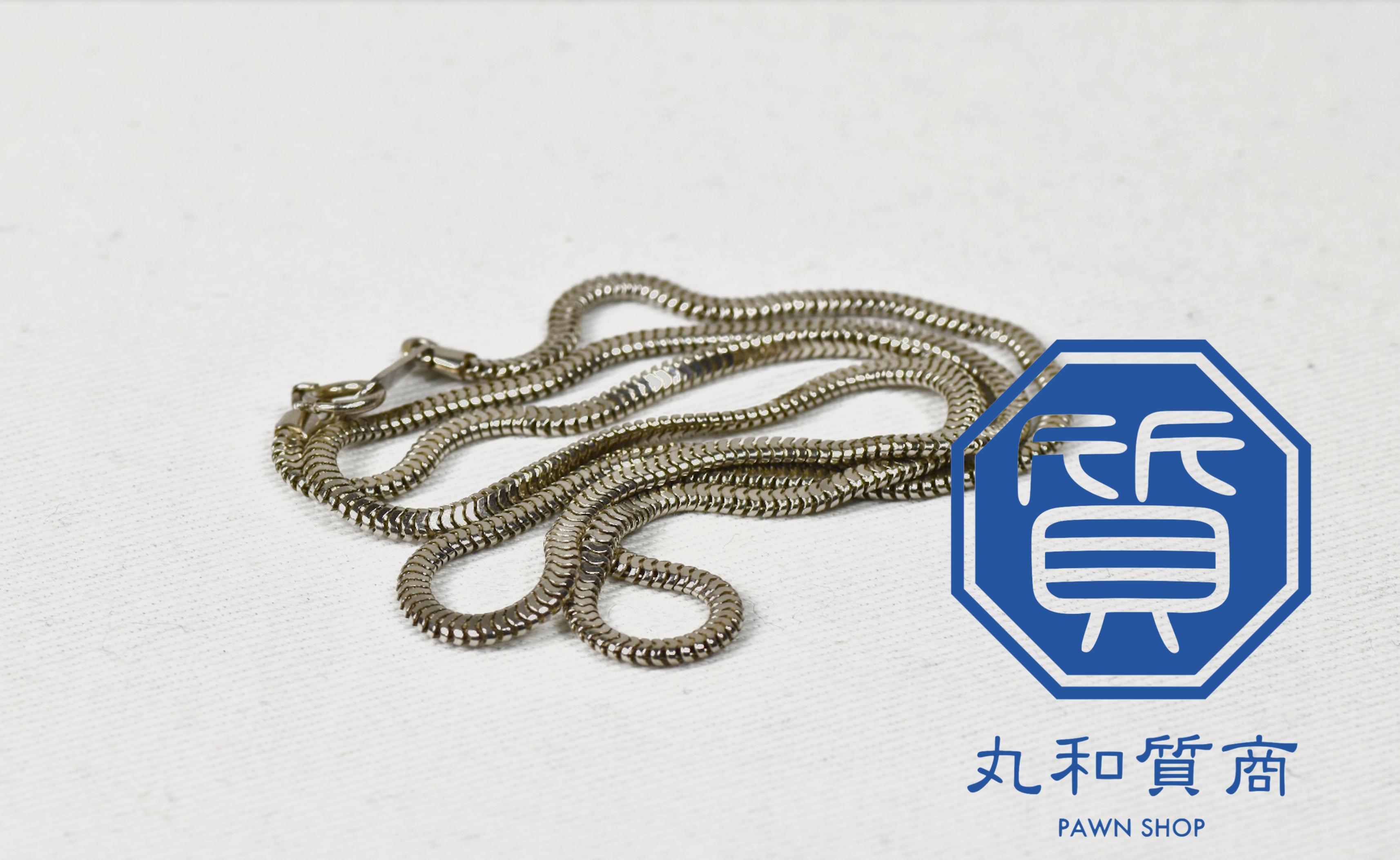 Pt850のネックレスを所沢市のお客様からお買取!買取価格は?
