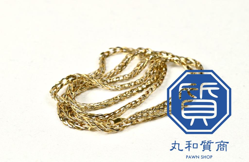 K18 金のネックレスを所沢市にお住まいのお客様からお買取させて頂きました!