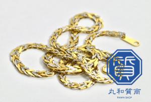 K18 Pt850 コンビ ネックレスをお買取!買取価格の相場は?
