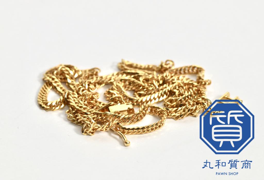 喜平 K18 六面ダブルのネックレスをお買取!買取価格の相場は?