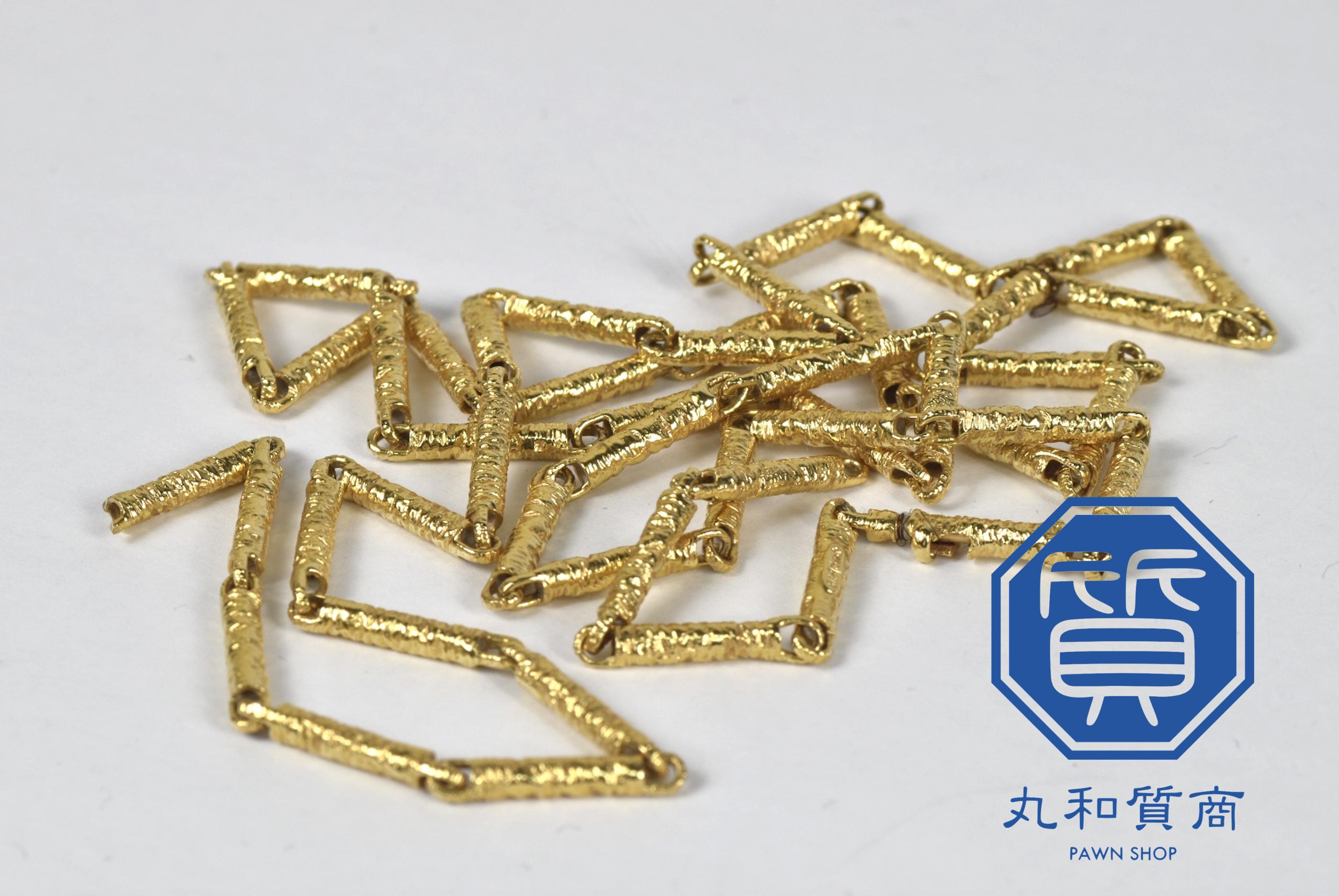 24金 K24 純金のネックレスをお買取!買取価格の相場は?