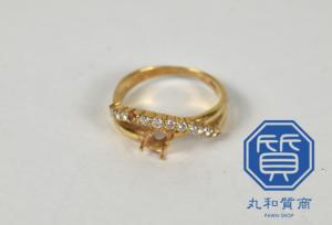 K18 18金 ダイヤつき指輪をお買取!買取価格の相場は?