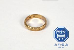 K18 18金の指輪をお買取!買取価格の相場は?