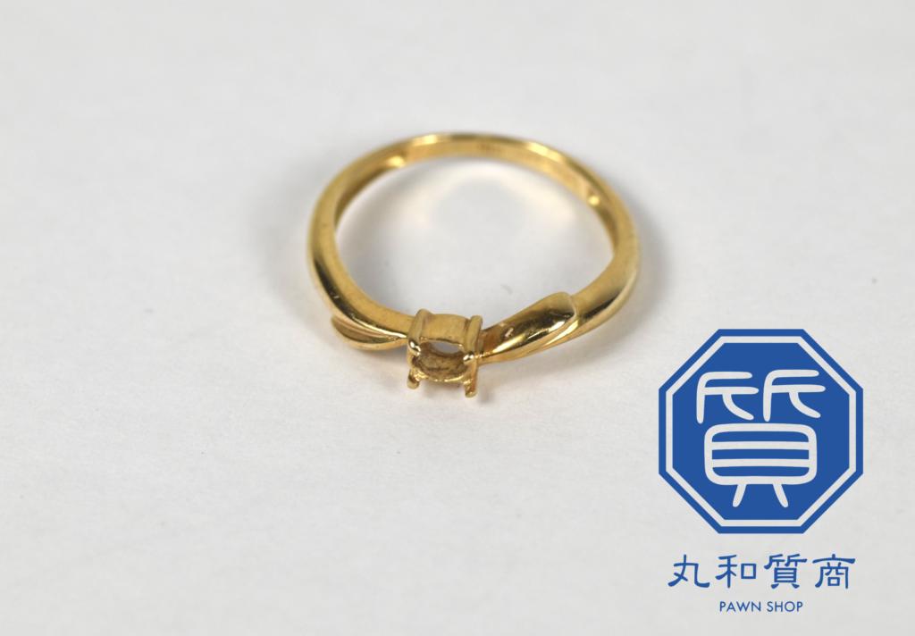 K18 18金 壊れた指輪をお買取!