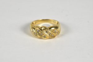 K18 18金 ダイヤモンドつき指輪をお買取!価格の相場は?