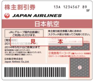 JAL(日本航空)株主優待券の買取価格の相場は?