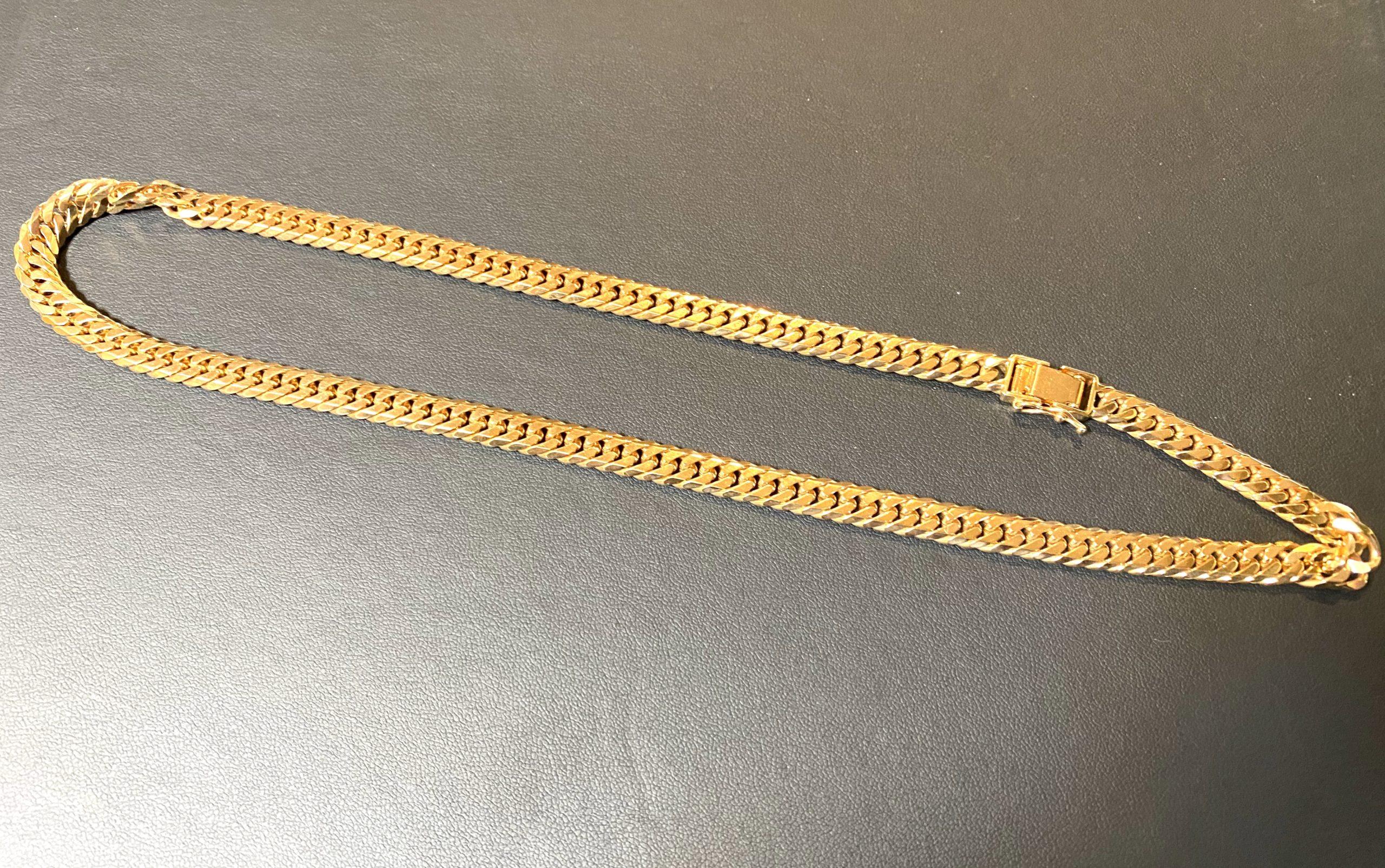 ピンクゴールド(K18PG,18金)の喜平ネックレスをお買取!価格の相場は?