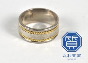 金/プラチナ コンビの指輪をお買取!価格の相場は?