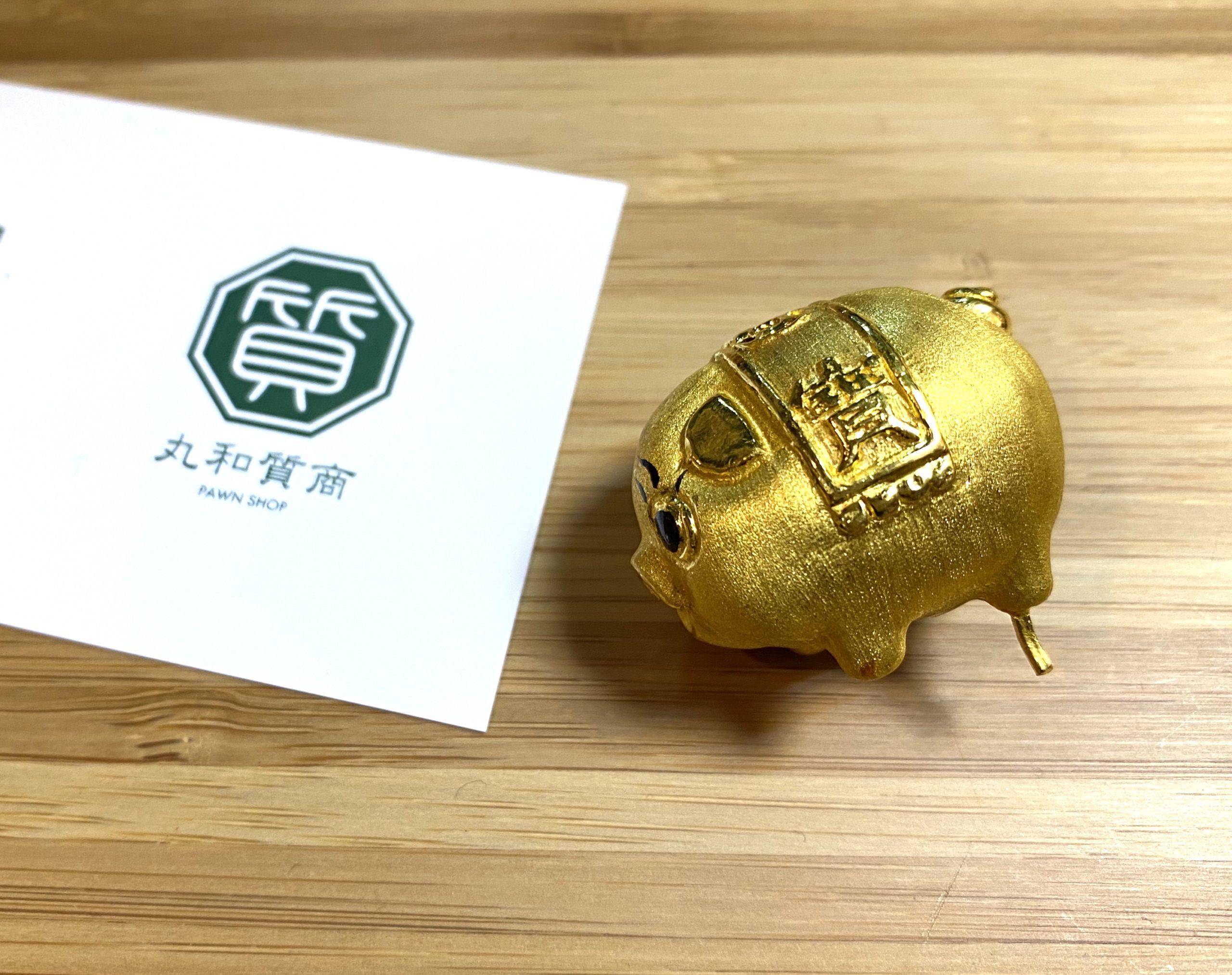 純金(K24,24金)の置物をお買取!価格の相場は?