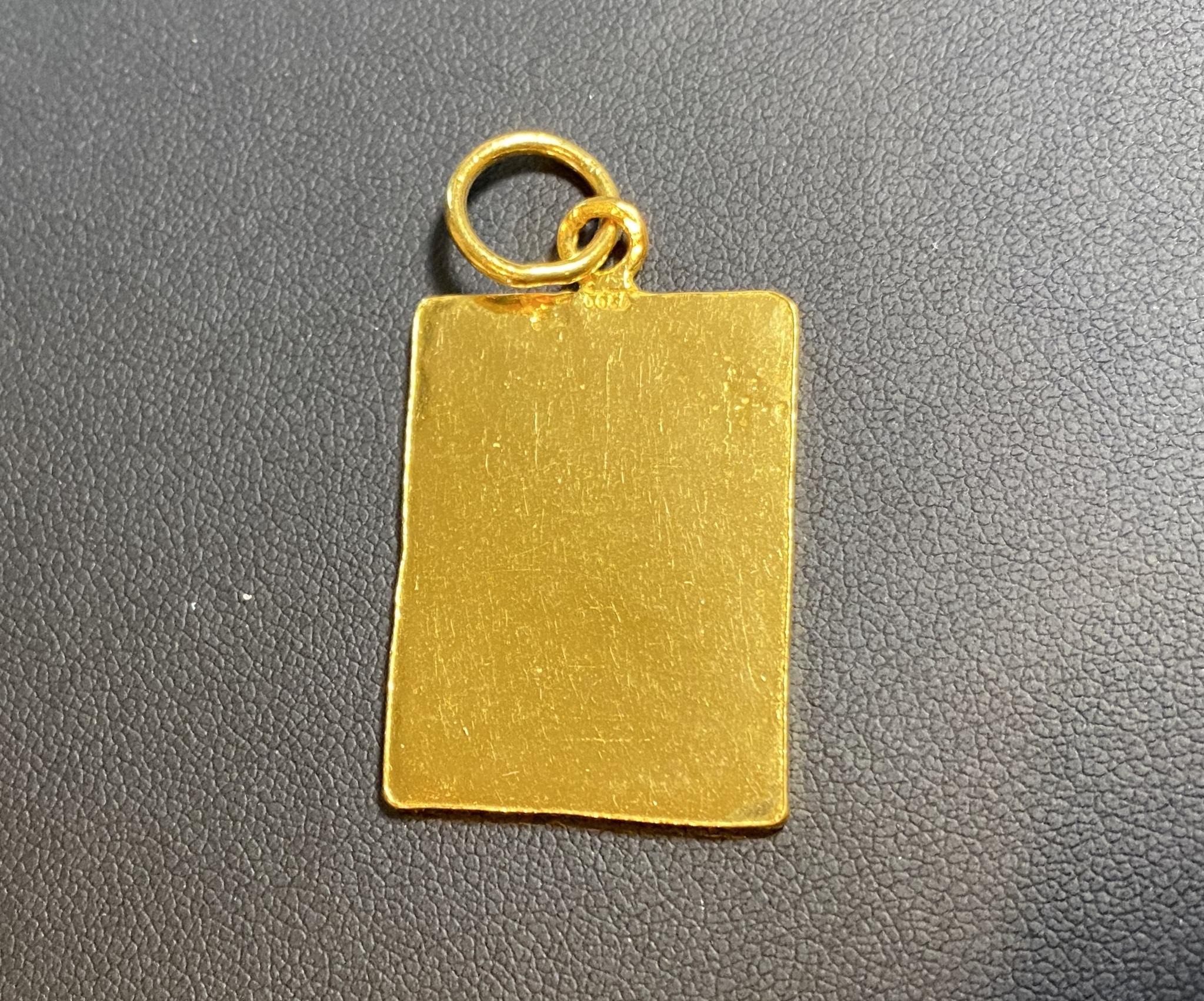 純金(K24,24金)のペンダントをお買取!価格の相場?