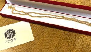 金(K18,18金)喜平ネックレス 8面トリプルをお買取!価格の相場は?