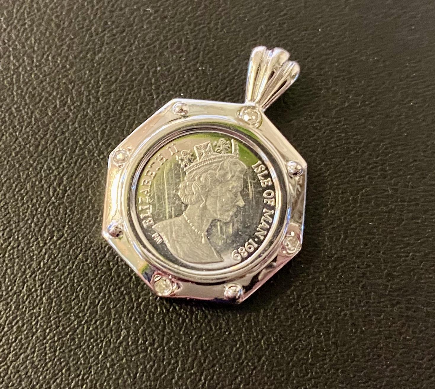 プラチナコイン マン島 キャット 1/25オンス ペンダントをお買取!価格の相場は?