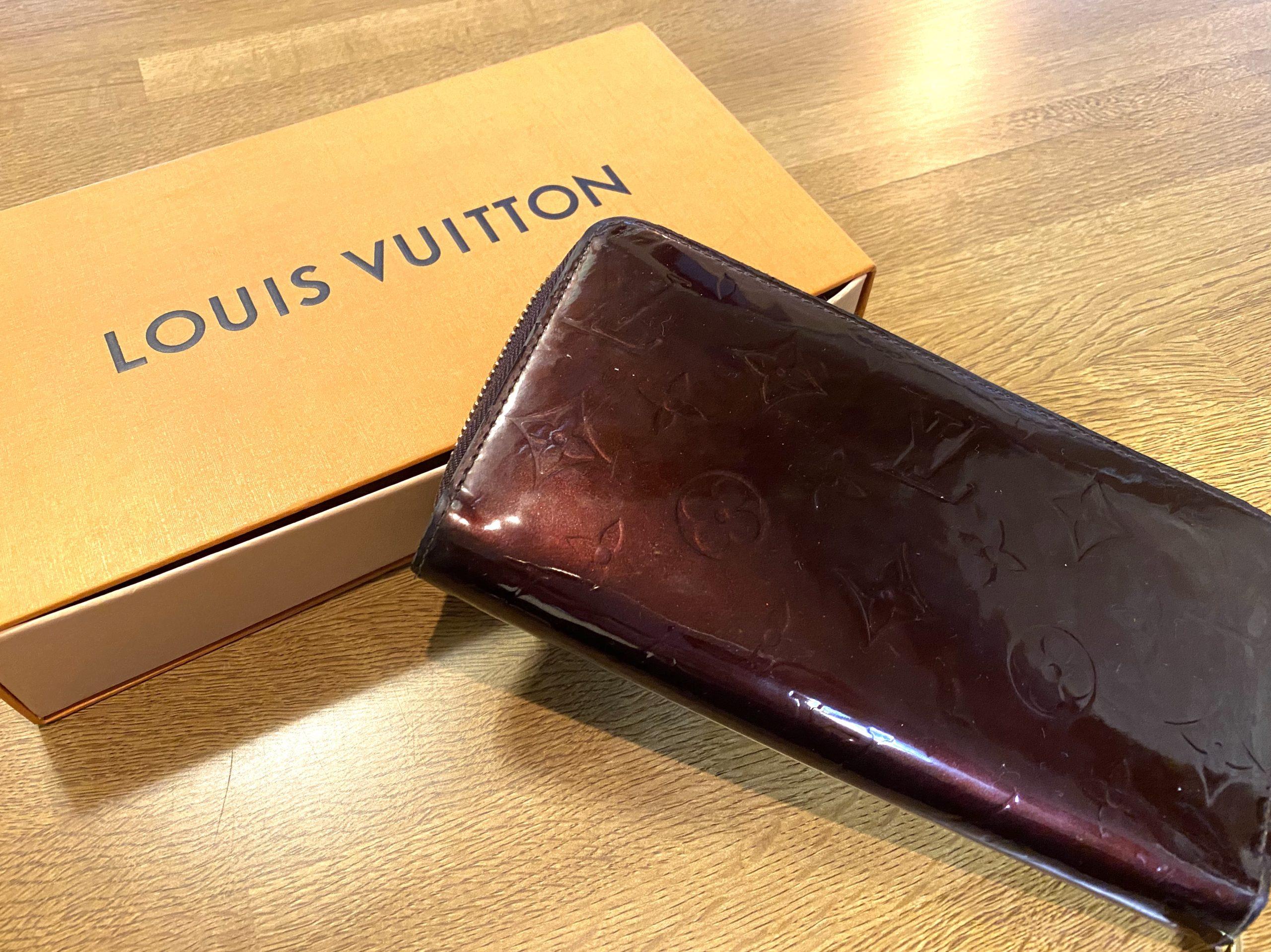 ルイヴィトン ヴェルニ ジッピーウォレット 長財布 M93522をお買取