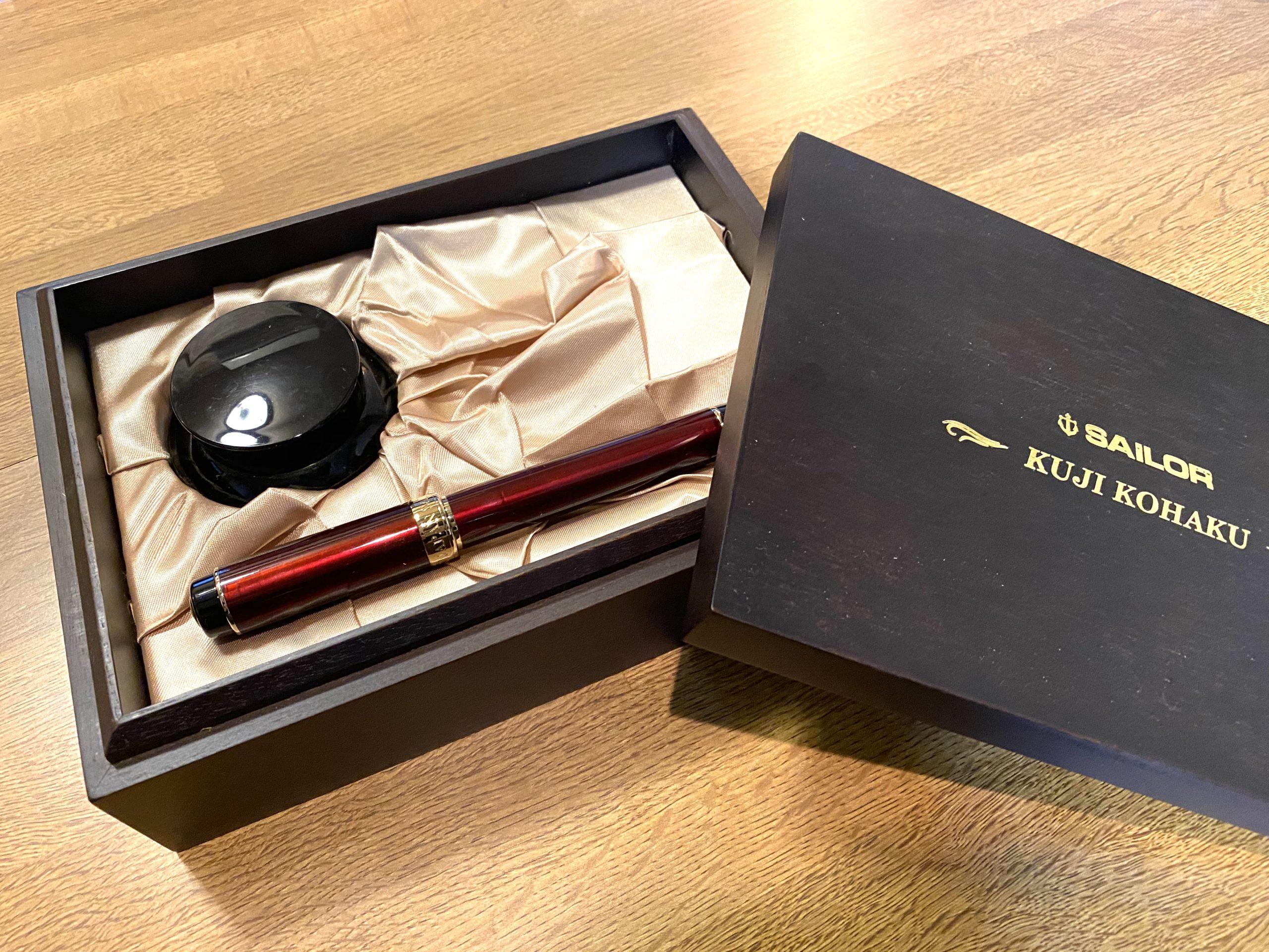 SAILOR(セーラー) 久慈琥珀 万年筆 K21をお買取させていただきました。