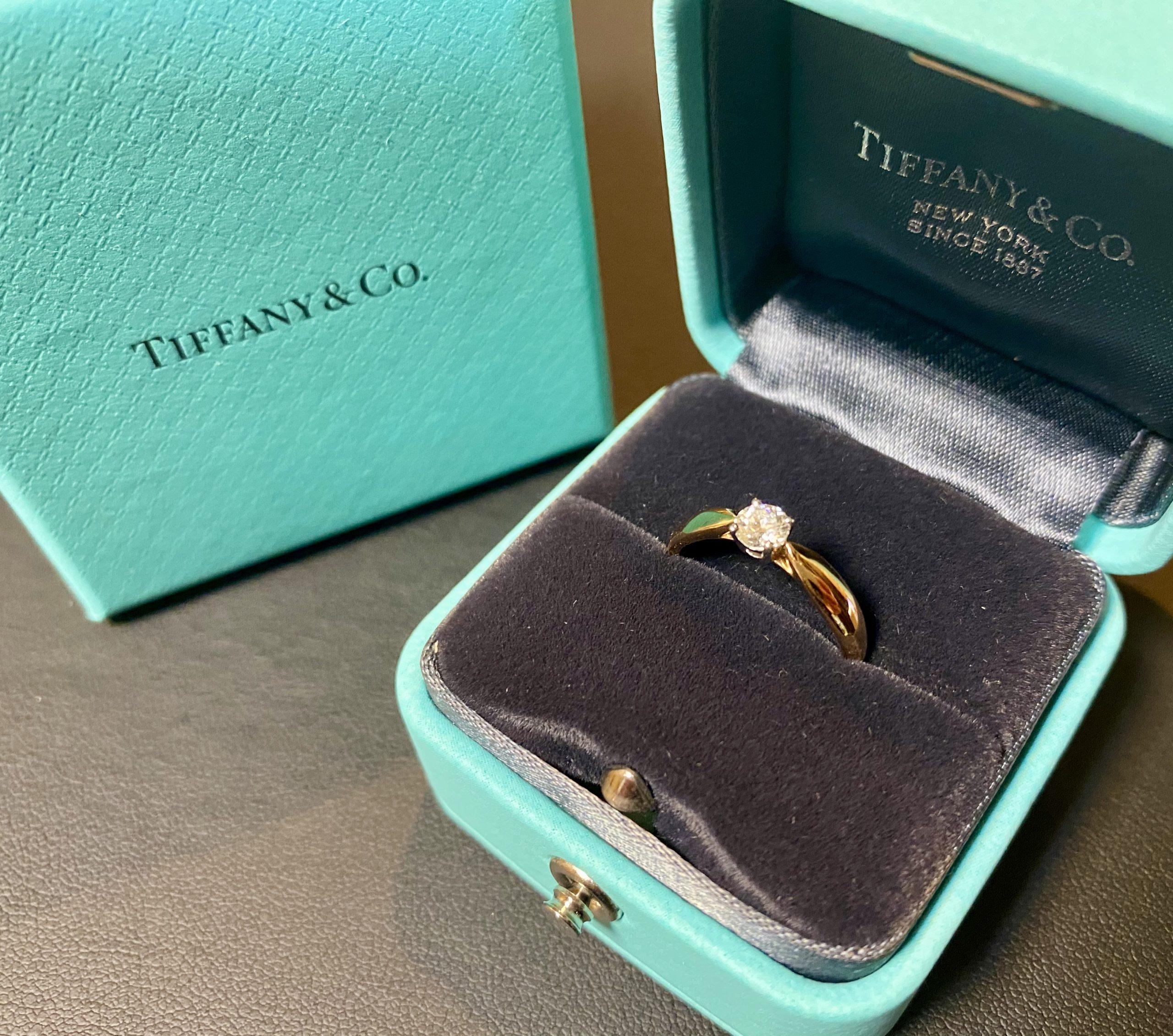 ティファニー ハーモニー リング,指輪 Au750/Pt950をお買取させていただきました。