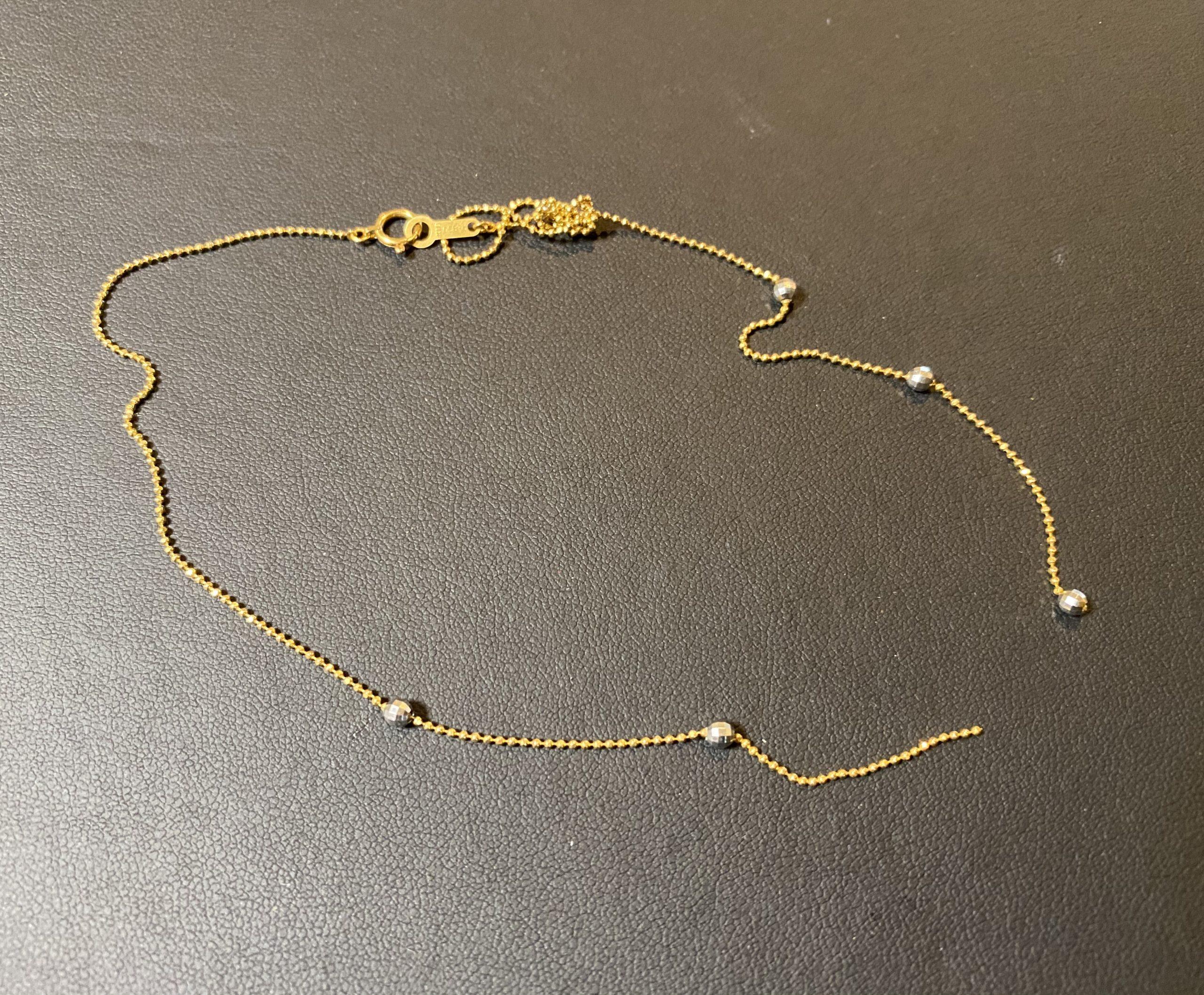 金(K14,14金)壊れたネックレスをお買取!価格の相場は?