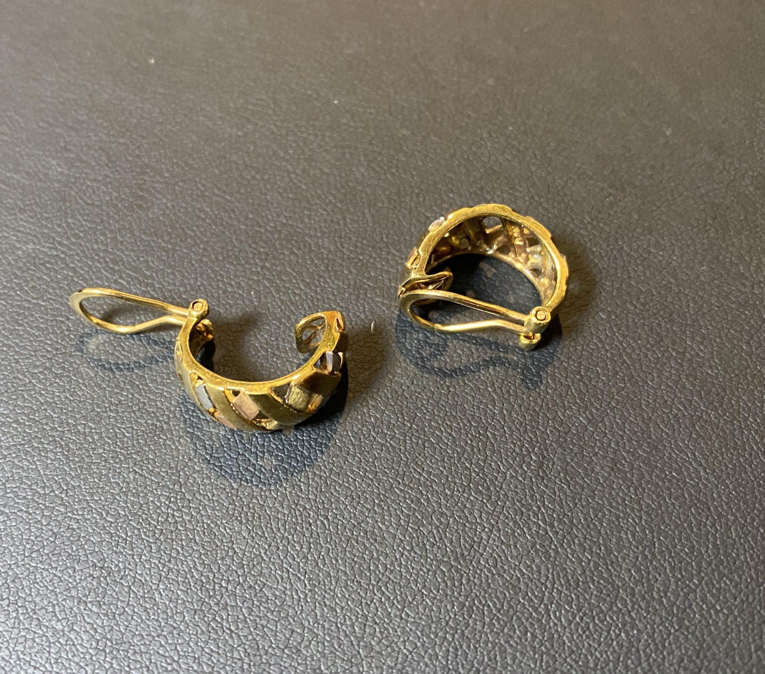 金/プラチナ コンビのイヤリングをお買取!価格の相場は?