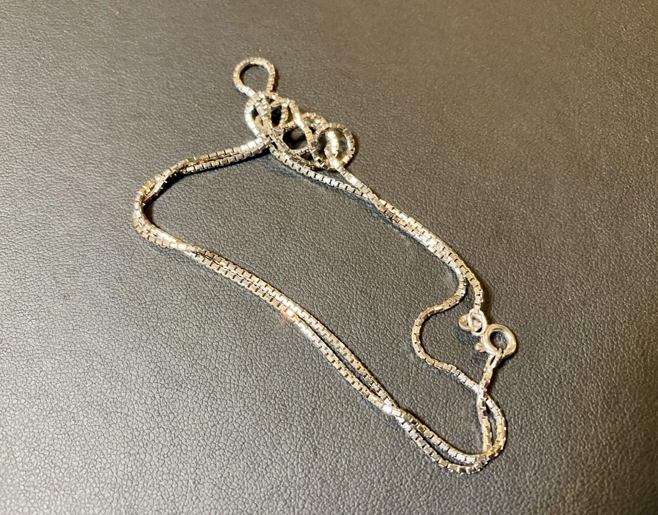 プラチナ(Pt850)ベネチアンチェーンネックレスをお買取!価格の相場は?