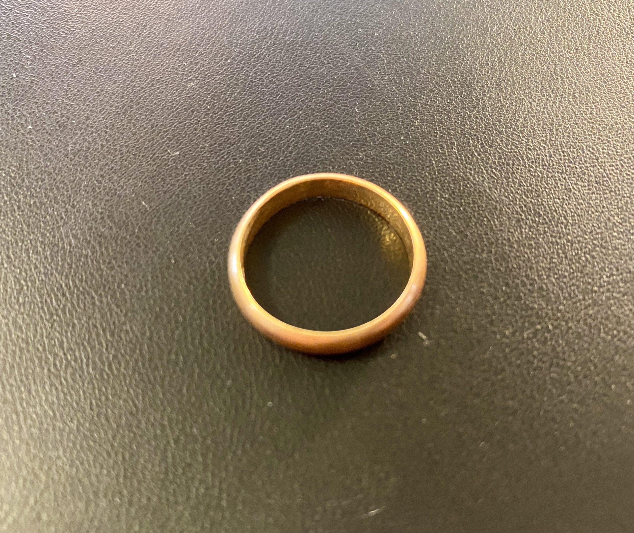 純金(K24,24金)甲丸の指輪,リングを狭山市のお客様からお買取!価格の相場は?