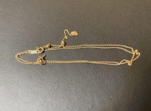 金(K18,18金)ネックレスを飯能市のお客様からお買取!価格の相場は?