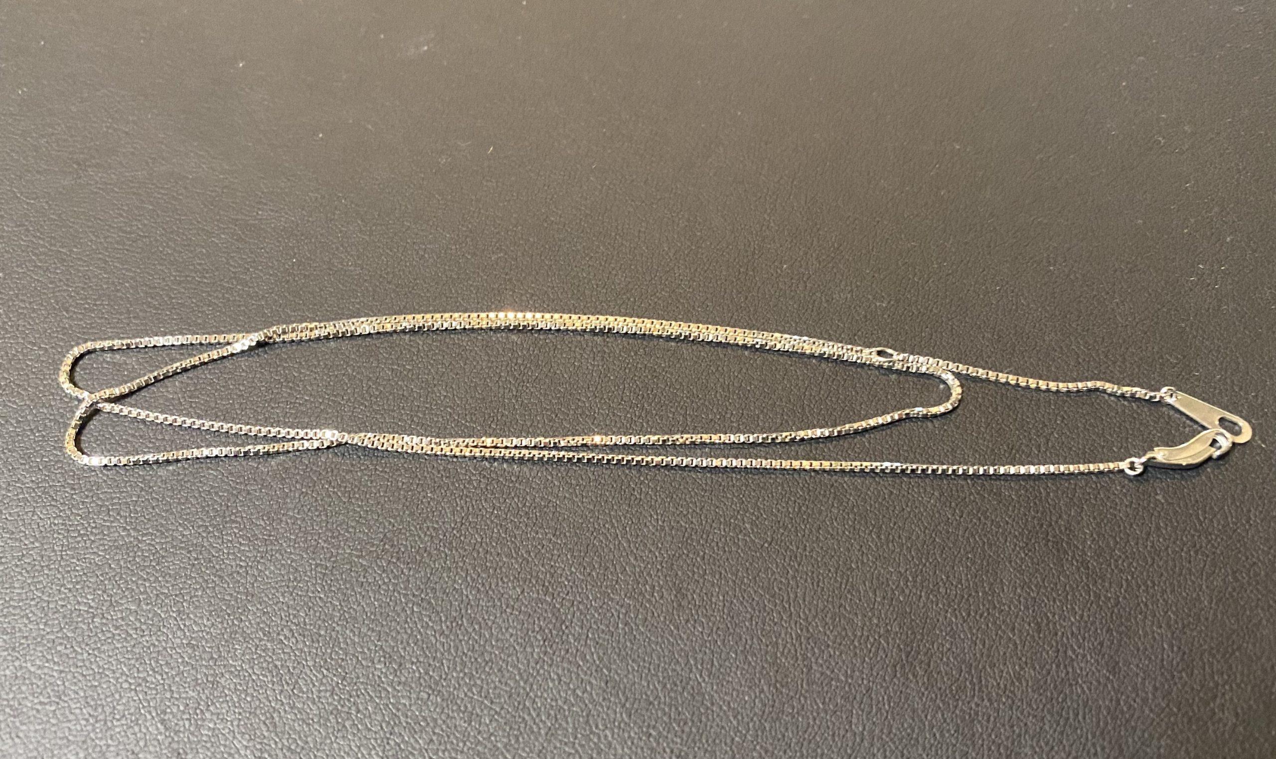 プラチナ(Pt900)ベネチアンチェーンのネックレスをお買取!価格の相場は?