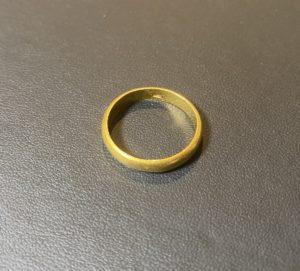 純金(K24,24)甲丸のリング,指輪をお買取!価格の相場は?