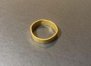金(K18,18金)平打ちのゴールドリング,指輪をお買取!価格の相場は?