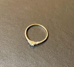 プラチナ(Pt900)小さいダイヤモンド付きの指輪,リングをお買取!価格の相場は?
