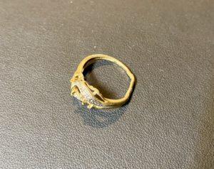 金/プラチナ(K18/Pt850)コンビの壊れた指輪,リングをお買取!価格の相場は?