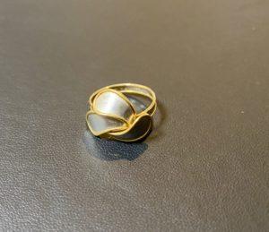 金/プラチナ(K18/Pt850)コンビの指輪,リングをお買取!価格の相場は?