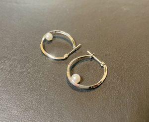 プラチナ(Pt900)ヴァンドーム青山 ベビーパール/真珠のピアスをお買取させていただきました。