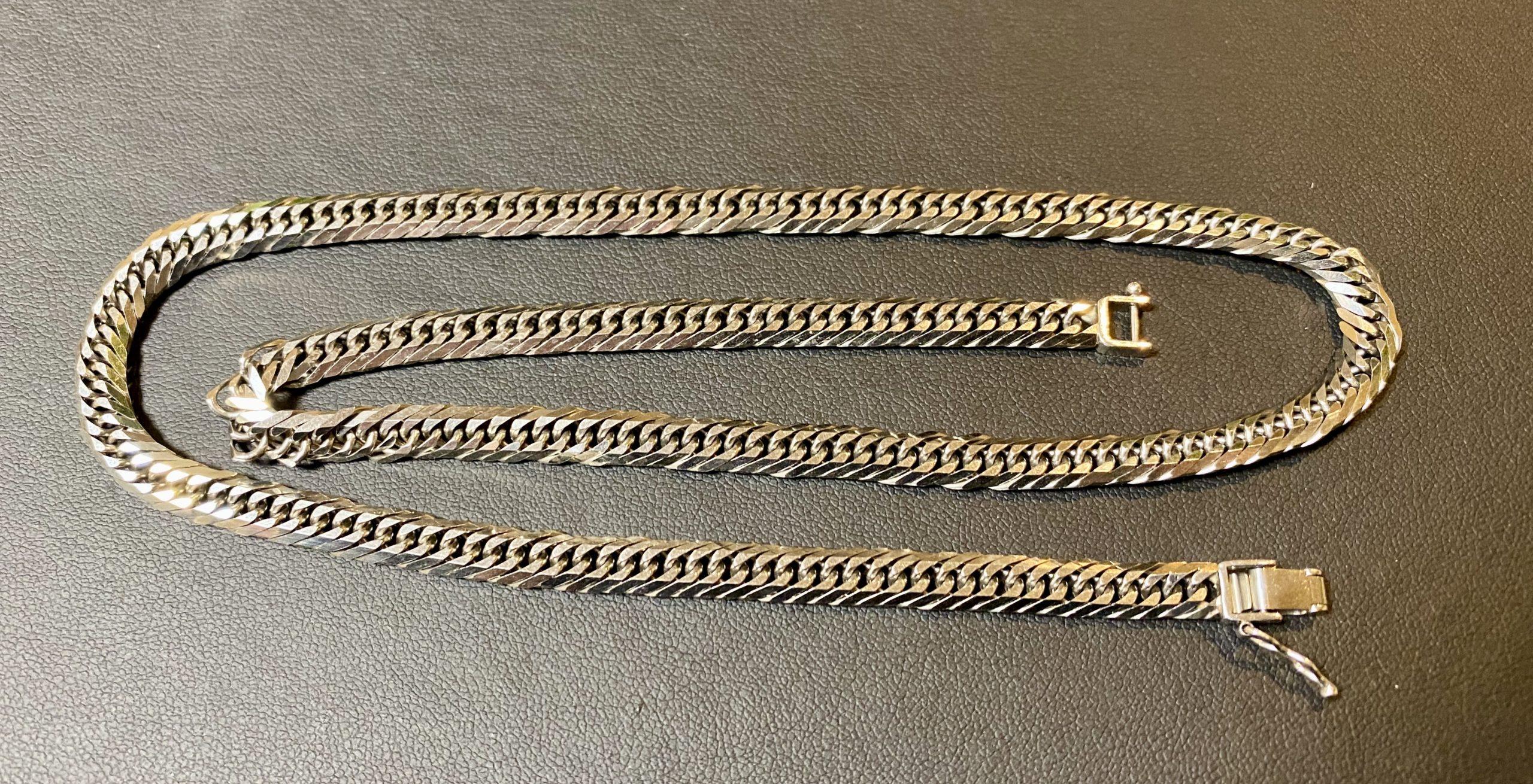 プラチナ(Pt850)喜平ネックレス 8面トリプルをお買取!価格の相場は?