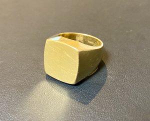 金(K20,20金)印台リング,指輪をお買取!価格の相場は?