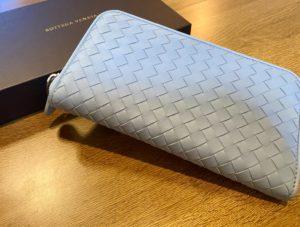 ボッテガヴェネタ イントレチャート 長財布をお買取させていただきました。
