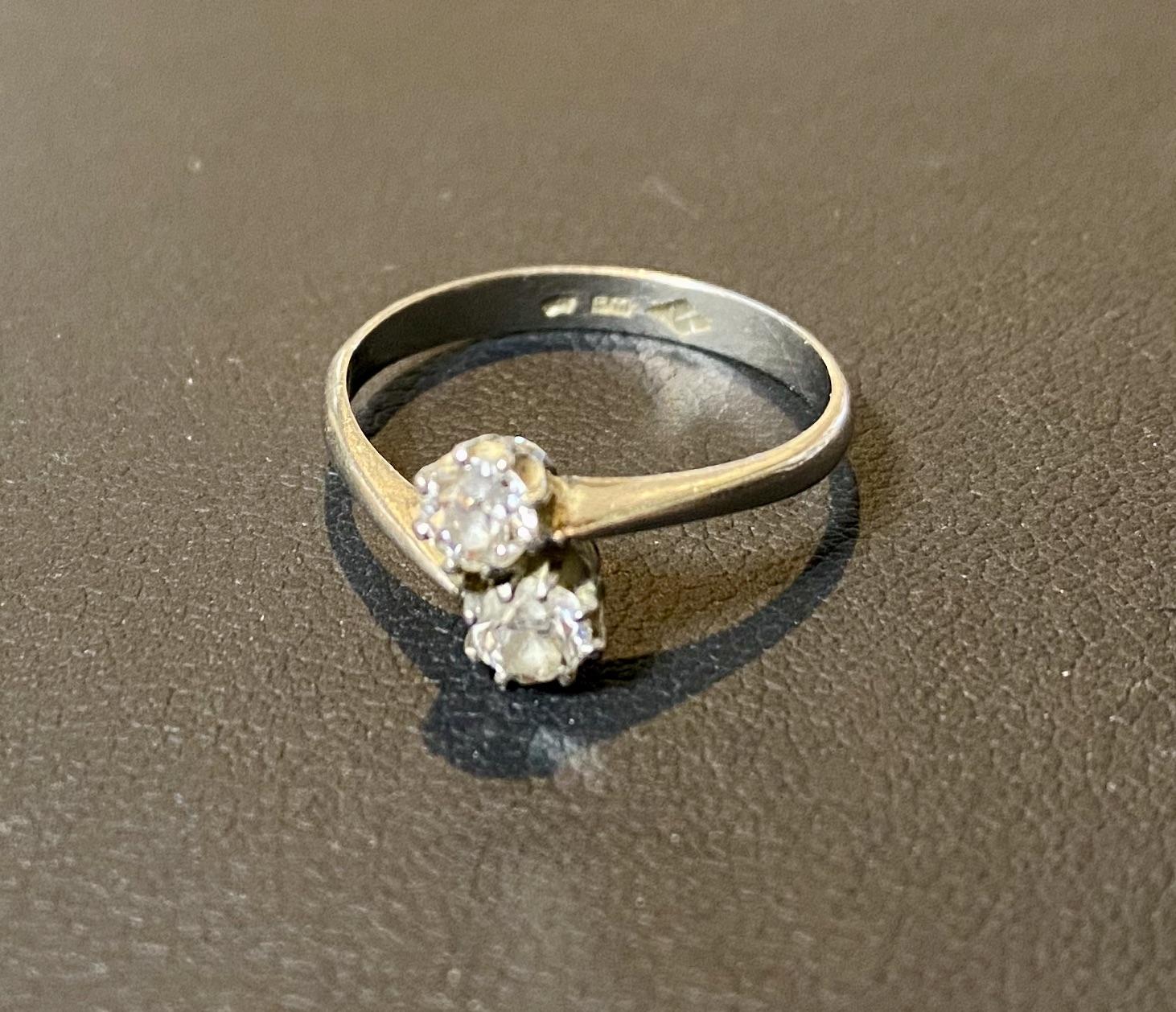 プラチナ(Pm刻印)ダイヤモンドの指輪,リングをお買取させていただきました。