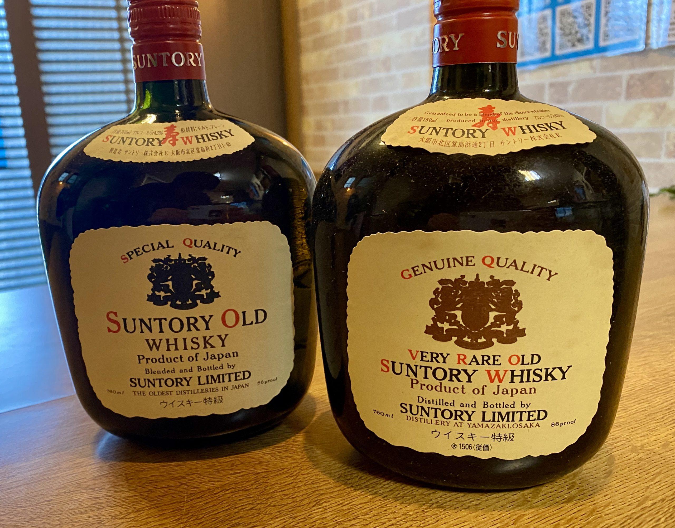 サントリー オールドウイスキーをお買取させていただきました。