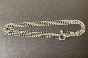 プラチナ(Pt900)ボールチェーンネックレスをお買取!価格の相場は?