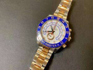 ロレックス ヨットマスターⅡ 116681 ローズゴールドをお買取!価格の相場は?