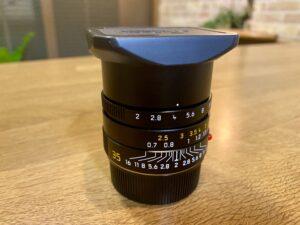ライカ ズミクロン M35mm f/2 ASPH.は買取よりも質入れ!価格の相場は?