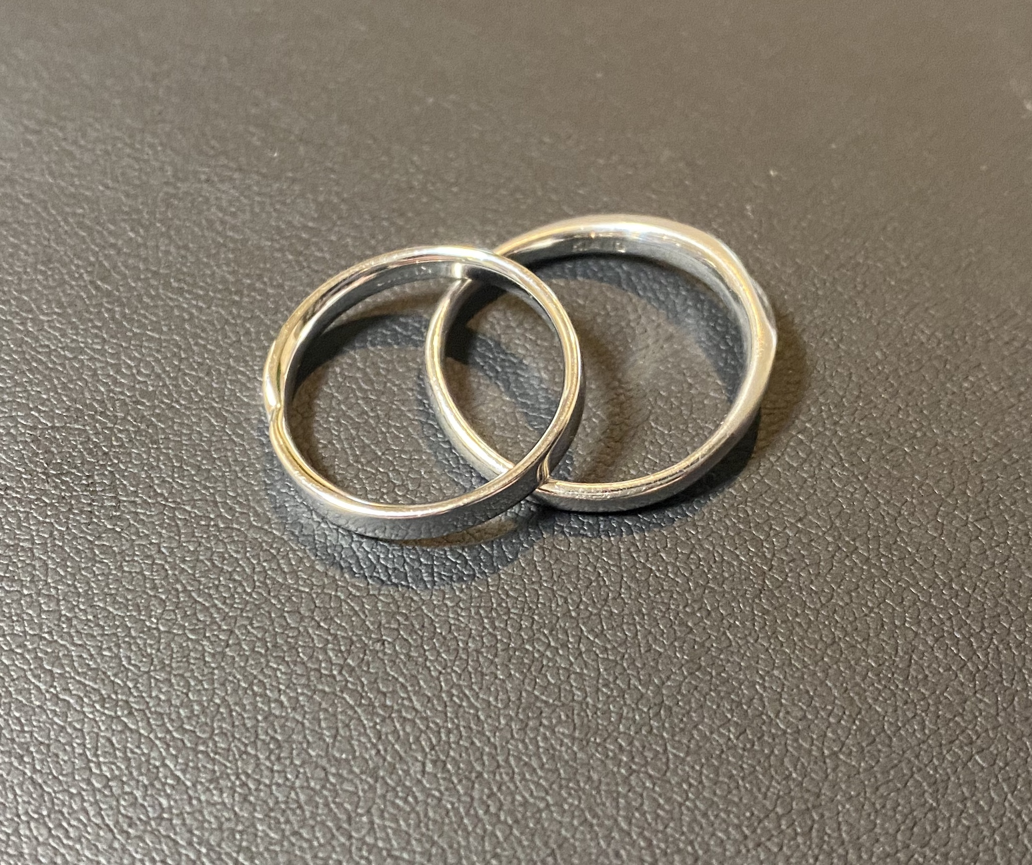 ホワイトゴールド(14金,K14WG)平打ちリング,指輪をお買取!価格の相場は?