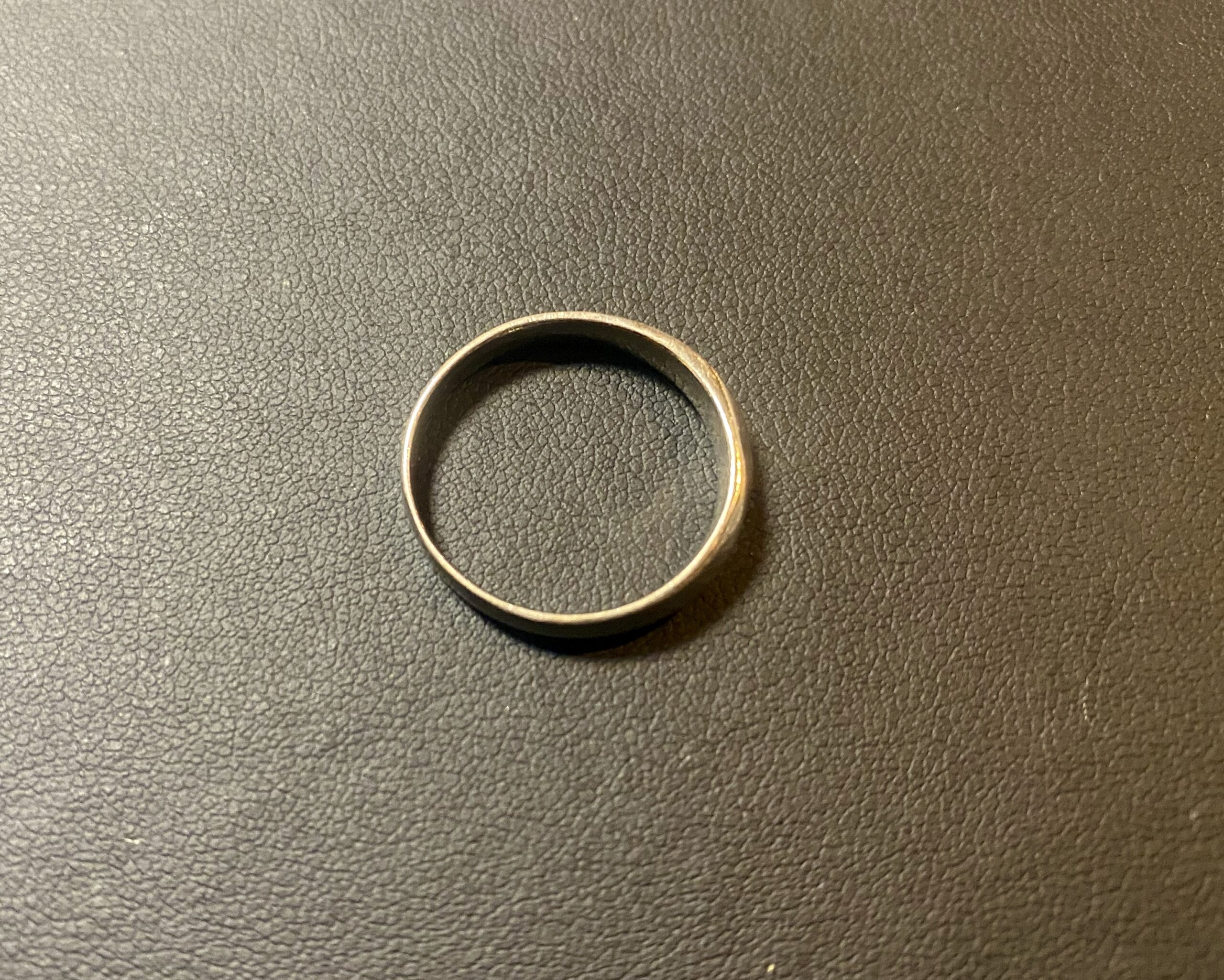 純プラチナ(Pt1000)平打ちリング,指輪をお買取!価格の相場は?