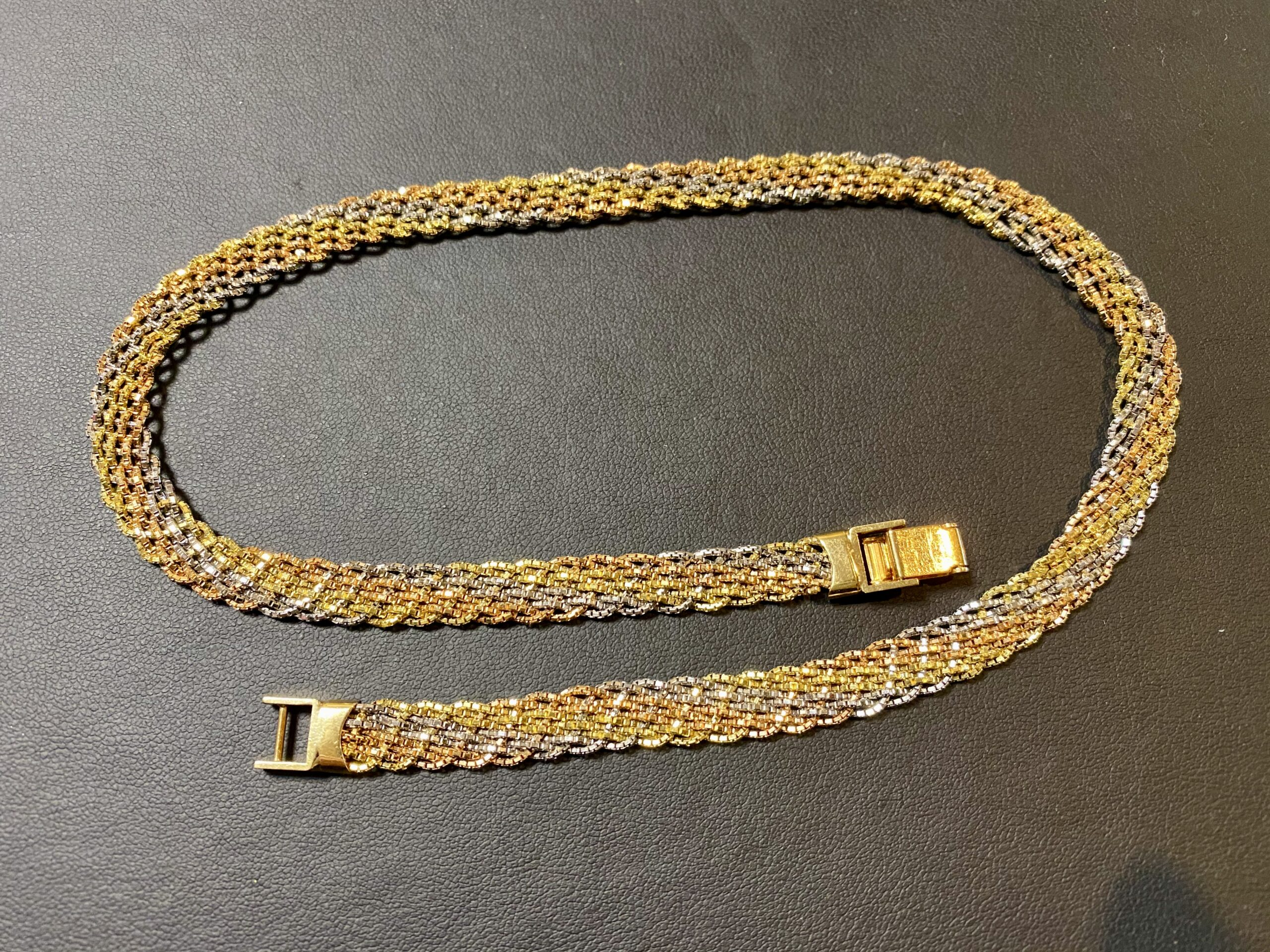 金(K14,14金)ベネチアンチェーンのネックレスをお買取!価格の相場は?