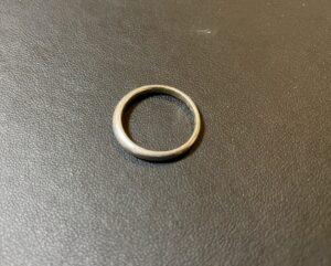 純プラチナ(Pt1000)甲丸リング,指輪をお買取!価格の相場は?