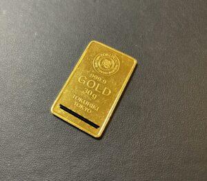 純金(K24,24金)徳力 インゴット 30gをお買取!価格の相場は?