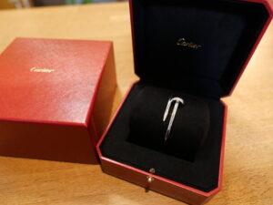 カルティエ ジュストアンクル ブレスレット ダイヤ/WGをお買取!価格の相場は?