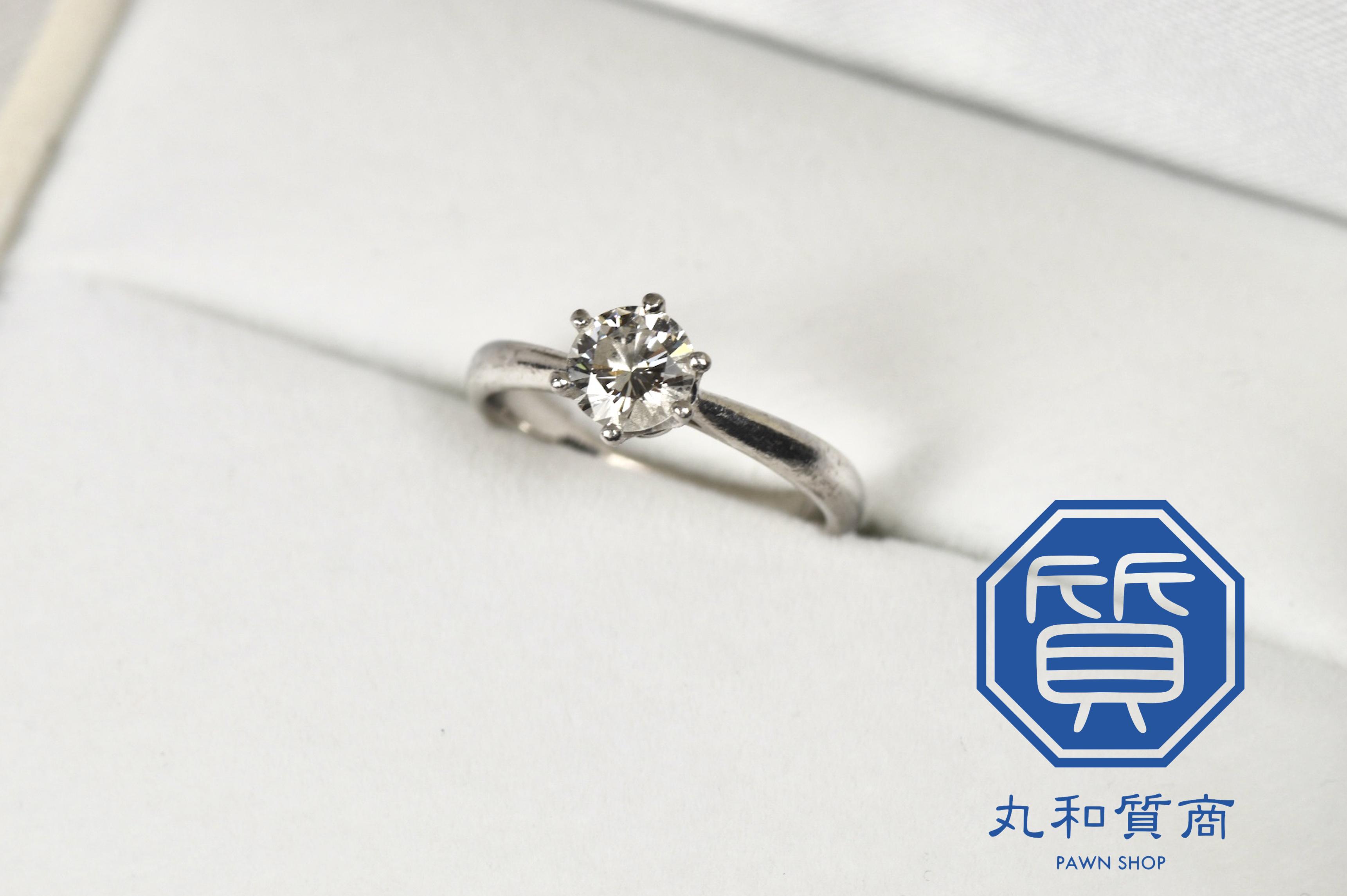プラチナ(Pt900)ダイヤモンドリング 0.3カラットをお買取!価格の相場は?