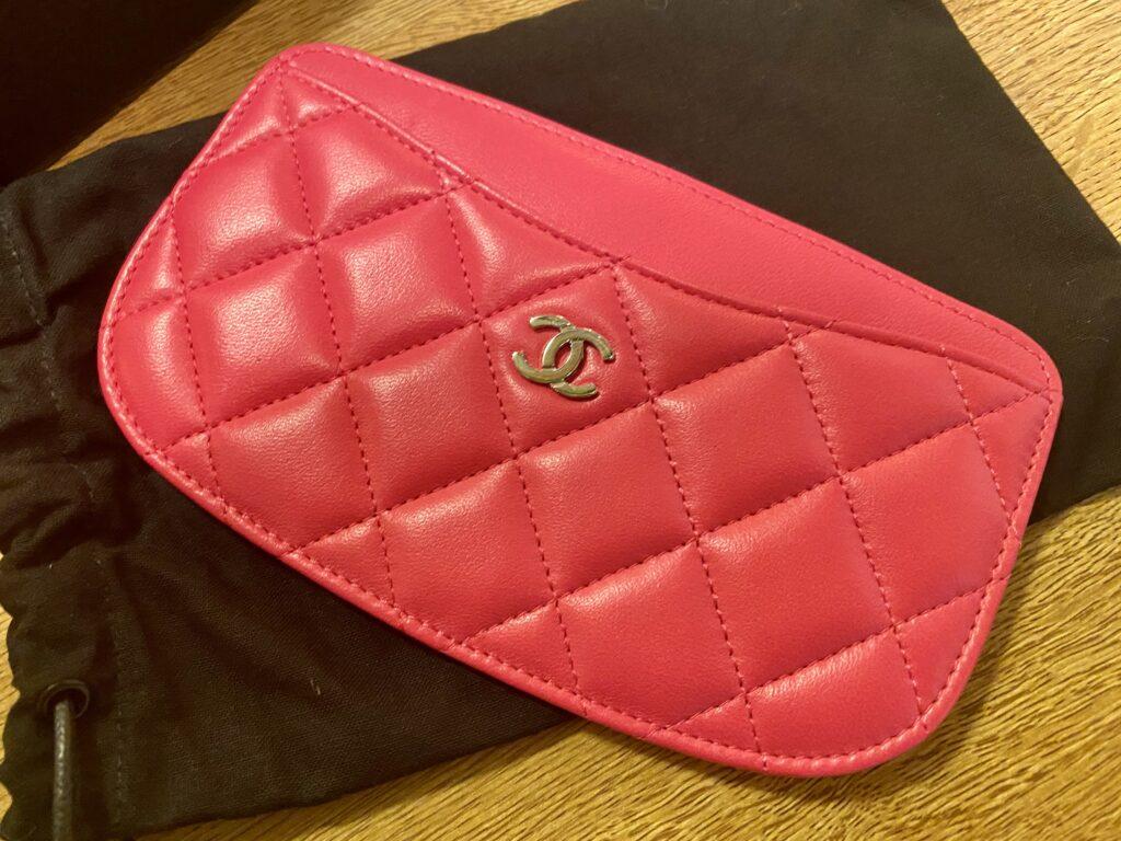 シャネル マトラッセ カードケース ラムスキン ピンクをお買取!価格の相場は?