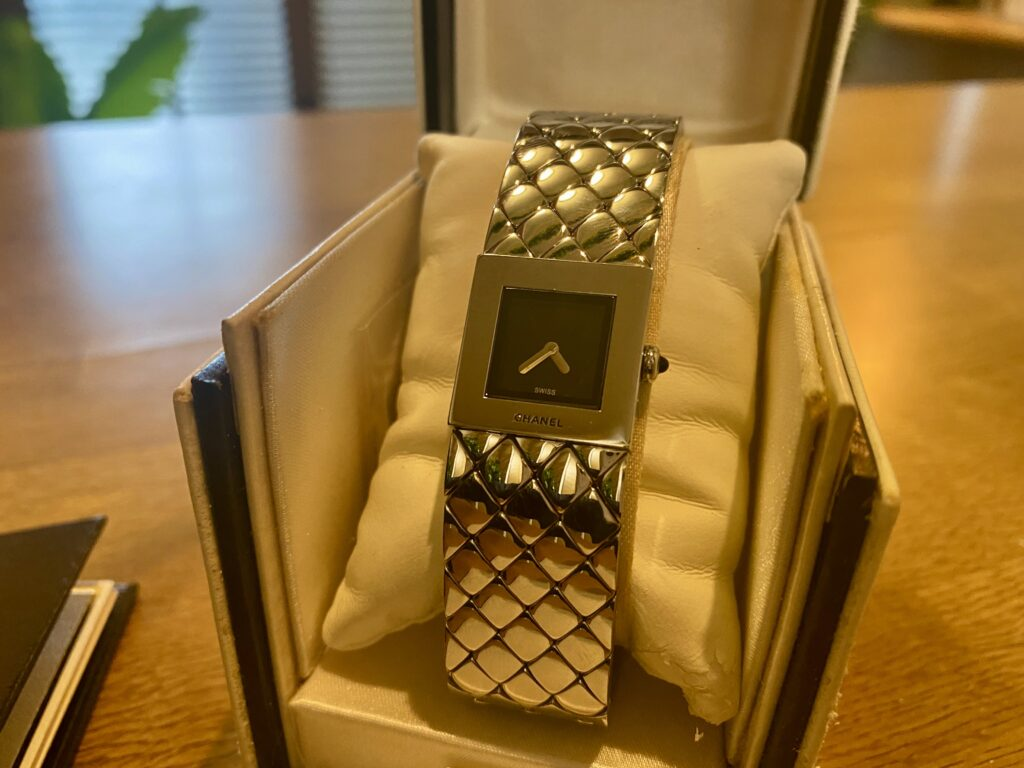 シャネル マトラッセ SS 腕時計をお買取!価格の相場は?