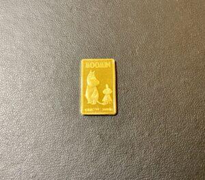 純金(K24,24金)石福インゴット 5g ムーミン柄をお買取!価格の相場は?