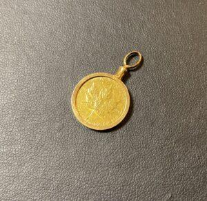 純金(K24,24金)メイプルリーフ金貨 1/10ozをお買取!価格の相場は?